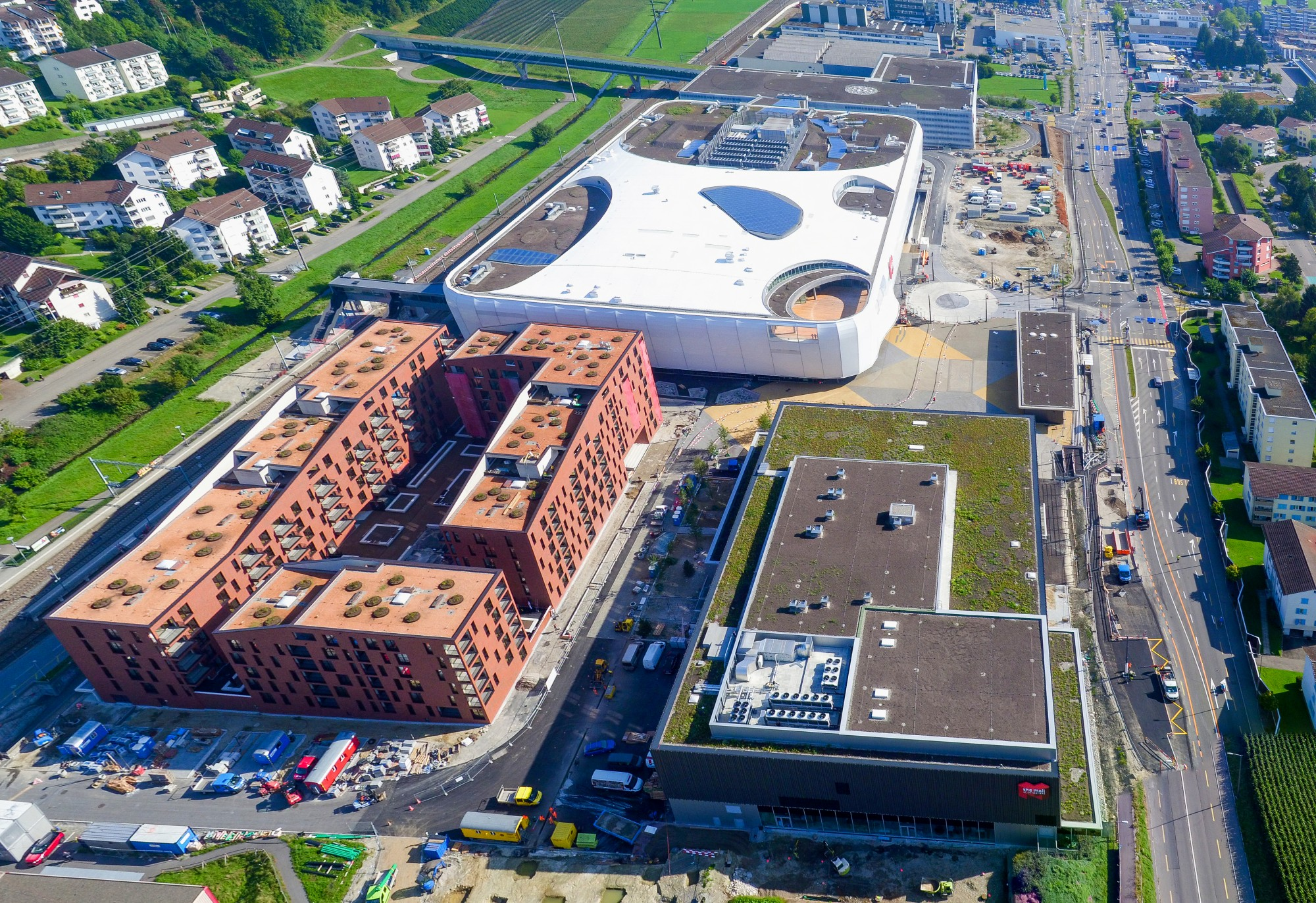 Mall of Switzerland Drone